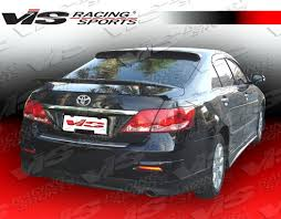 toyota camry spoiler 2007 2008 toyota camry 4dr rear trunk spoiler vis racing