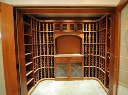Corner Wine Cabinets Small Wine Rooms Wine Closets Wine Closet Conversions