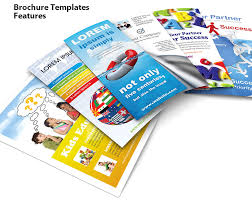 product brochure template free brochure templates features smiletemplates