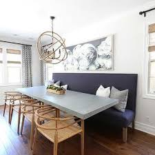 purple dining room ideas purple dining bench with concrete top dining table home dining