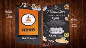 restaurant menu design inspiration youtube