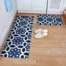 kchen tapeten modern 2pcs set bathroom mat set non slip kitchen doormat modern entrance