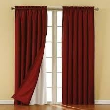 Thermal Curtain Lining Which Side Out Eclipse Thermaliner White Blackout Energy Saving Curtain Liners