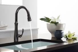 kohler bronze kitchen faucets eclectic kitchen