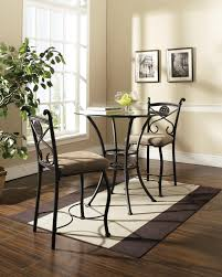 cool small 3 piece dining set bistro table and chairs breakfast