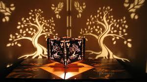 Laser Cut Lamp Shade Uk by Decorative Wood Lasercut Oak Tree Shadow Lamp Chill