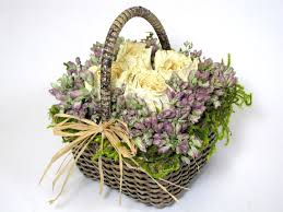Arrangement Flowers by Dried Flower Decor On Esty Dried Flower Arrangement