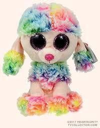 rainbow ty beanie boo dog