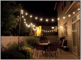 Patio Solar Lights Solar Patio String Lights Home Design Ideas And Pictures