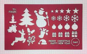 coloring page cute snow spray stencils christmas tree stencil