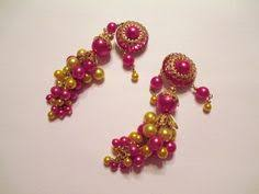 gaudy earrings baby gaudy earrings by kahyoot on etsy excess orize