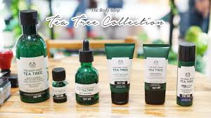 Serum Wajah Shop review the shop tea tree new collection