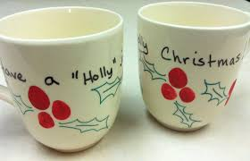 handmade mugs diy christmas mugs lizardmedia co
