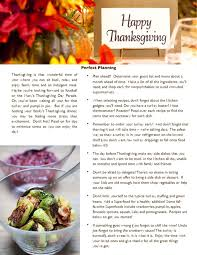 thanksgiving newsletter template free premium