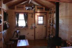 trophy amish cabins llc 10 x 20 bunkhouse cabinshown in the the ladder to the loft is vacations cabin