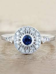 antique design rings images Aurelia round antique halo engagement ring ken dana design jpg