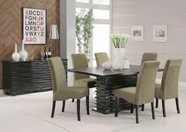 lukeids cherry wood chairs dining room modern dining room table