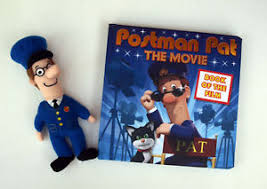 postman pat book soft toy kids pre nursery young