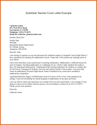 Cover Letter For High School Teaching Position Cover Letter For Teaching Position Exles Outstanding