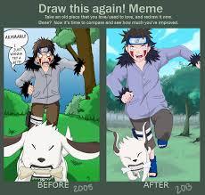 Draw This Again Meme Template - draw this again meme by teenbulma on deviantart