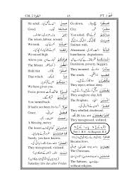 meanings of the difficult words of the holy qur an urdu