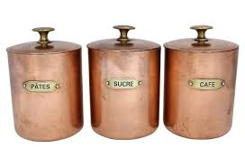 copper canisters kitchen 10 ways to use copper in your kitchen fieldstone hill design