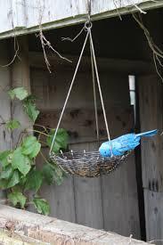 wrought iron bird nest cardinal bluebird or oriole