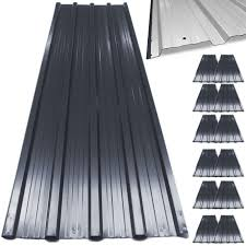 How To Re Roof A Shed With Onduline Corrugated Roofing Sheets by 12x Corrugated Roof Sheets 129cm X 45cm Grey Anthracite Onduline
