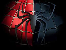 black spiderman wallpaper background