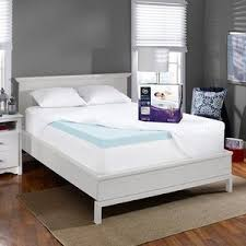 novaform 3 u201d evencor gelplus gel memory foam mattress topper with
