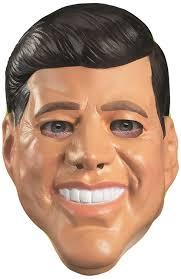 skin mask halloween amazon com disguise kennedy vinyl mask tan black white