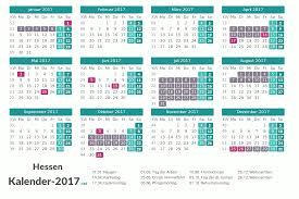 Kalender 2018 Hessen Din A4 Ferien Hessen 2017 Ferienkalender übersicht
