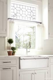 uphome 1pcs liftable organza kitchen balcony curtains tieup roman