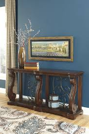Ashley Furniture End Tables Ashley Furniture T869 4 Alymere Rustic Brown Casual Sofa Table