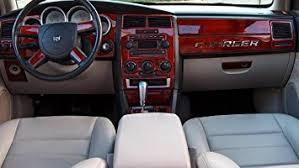dodge charger dash kit amazon com dodge charger interior burl wood dash trim kit set