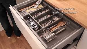 range couverts tiroir cuisine tiroir à l anglaise