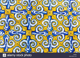 colorful vintage style ceramic tile pattern texture and background