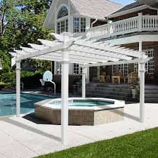 Lowes Pergola Plans by Add A Pergola Outdoors And Your Backyard Will Instantly Feel Grand