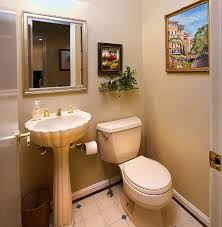 Orange Powder Room Bathroom Powder Room B Dunn Interiors Interior Design And