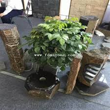 Outdoor Water Features With Lights by Outdoor Decorative Small Granite Water Feature Natural Top Basalt