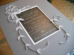 expensive wedding invitations all things paper quilled wedding invitations plus more