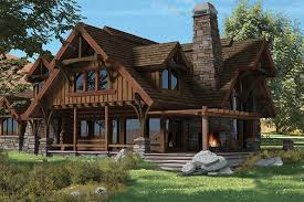 chalet building plans timber frame and log home floor plans by precisioncraft