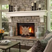 magnificent faux stone electric fireplace home ideas faux stone