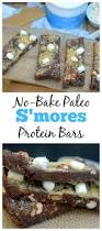 diy protein bars no bake paleo s u0027mores protein bars made with collagen peptides