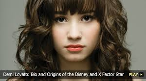 demi lovato childhood biography demi lovato bio and origins of the disney and x factor star