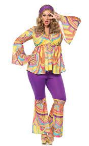 halloween hippie costume plus size 70 u0027s retro costume plus size women u0027s hippie costume