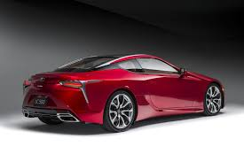 lexus lc build lexus lc 500 lets loose sweet sounding v 8 in new ad motor trend