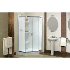 Maax Glass Shower Doors by Discobath Maax Intuition Neo Angle 1 4