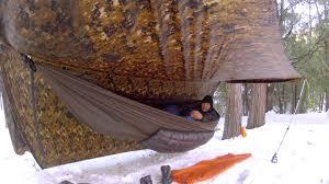 2013 snow hammock camping at mt palomar youtube