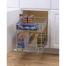 Under Cabinet Shelving design trend glidez 2 tier sliding under cabinet organizer 14 5